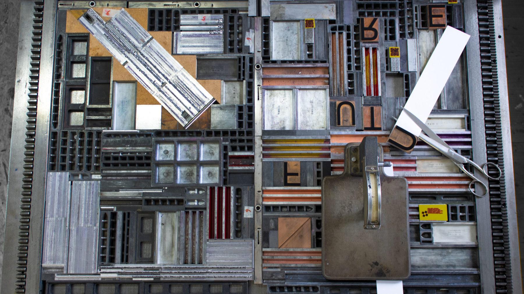 Letterpress makeready