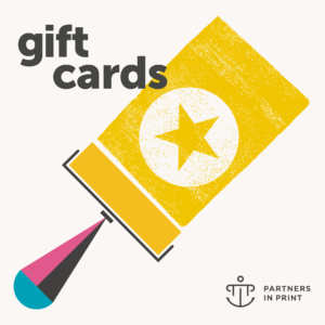 Partners in Print letterpress gift cards
